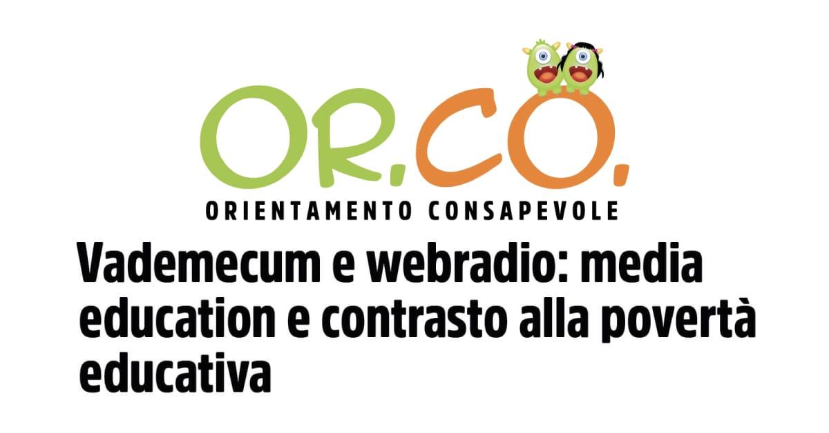 Banner Or.Co Digitsys Orientamento Consapevole CSVSN aderisce rete promozione web radio giovanili 2021