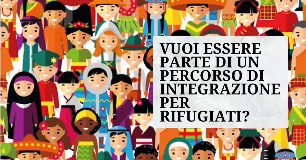 Banner Tutor territoriali per rifugiati progetto Ancora GLR Gruppo lavoro rifugiati 2021