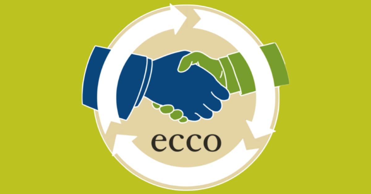 Banner progetto ECCO per economia circolare e solidale Eco Eventi OdV Confcommercio Noci