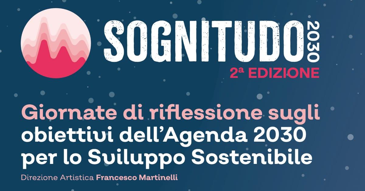 Banner seconda edizione Sognitudo 2030 Fondazione Casillo 2021