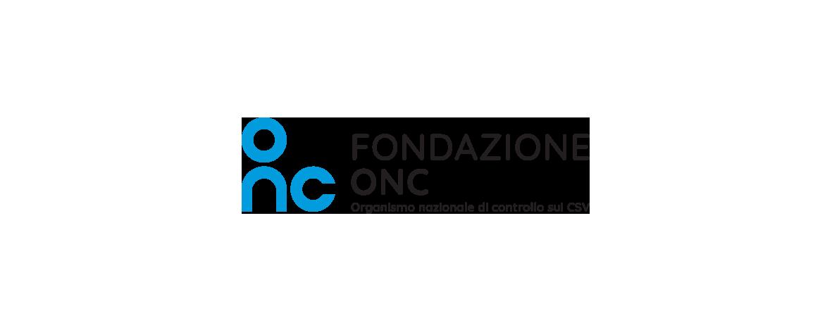 Logo Fondazione ONC Organismo Nazionale di Controllo sui Centri di Servizio per il Volontariato