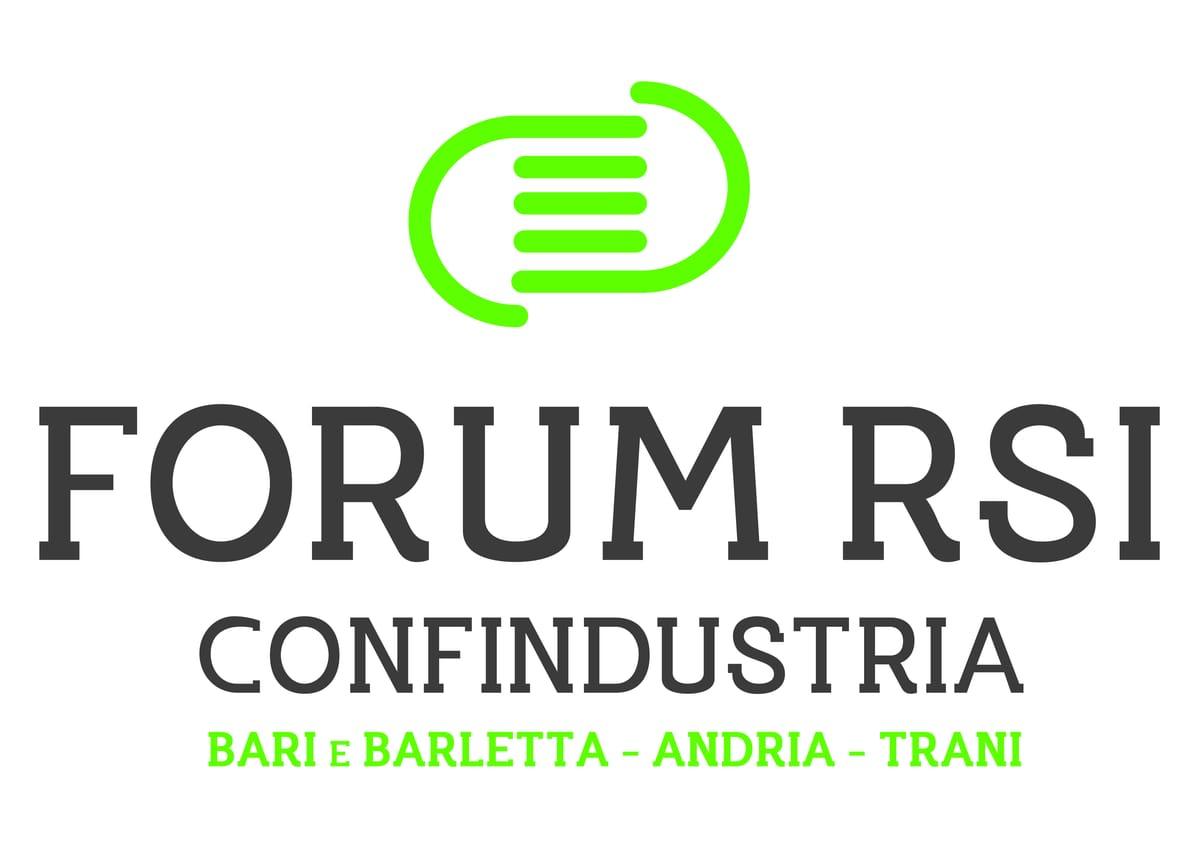 logo Forum Responsabilità Sociale d'Impresa di Confindustria Bari e BAT